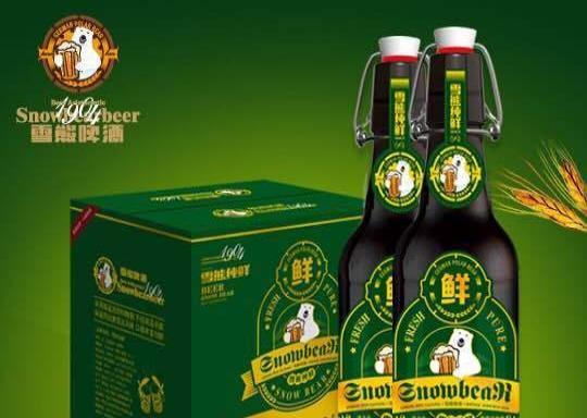 雪熊金额加盟酒水v金额啤酒3800元_丽江名酒美食街市区大庆图片
