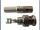 供应监控视频头 BNC75-5美式免焊仿金全铜监控设备配件BNC