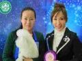 青岛爱尔宠物美容学校学员在全国各大比赛上的获奖照片