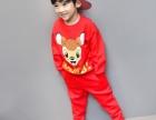 贵州童装批发厂家清货最低价小孩秋冬加绒卫衣打底衫批发保证质量