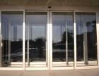 太原安装玻璃门修理地弹簧玻璃门的特征