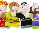 厂家订做益智毛绒玩具精致西游记手偶卡通玩偶 唐僧师徒四人手偶