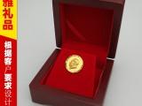 湖南商务旅游纪念品 纯银像章 铜像摆件工艺品 千足金像章定制