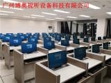 升降屏風國標考試專用桌自動控制升降屏風單人桌廠家