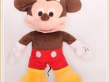 毛绒米奇米妮毛绒玩具 经典动漫迪士尼米奇系列公仔 厂家直销