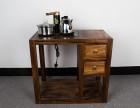 现代简约茶水柜储物柜子餐边柜功夫茶水架实木茶水柜