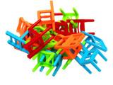 SM叠凳子玩具游戏  迷你凳子玩具  益智儿童桌面玩具游戏