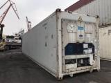 二手集装箱冷藏冷冻集装箱冷冻货柜低价租售