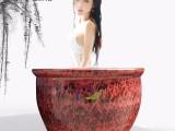 景德镇陶瓷泡澡缸成人泡澡陶瓷温泉大缸厂家直销