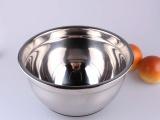 特级加厚硅胶底不锈钢打蛋盆---20CM