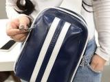 2014新款休闲斜跨包 伸缩式提把单肩pu胸包 韩国品牌女包 现