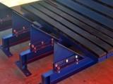 泰安矿用落料点用缓冲床 弹簧缓冲床