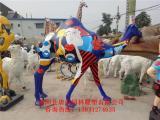 彩绘骆驼雕塑,玻璃钢彩绘雕塑,较新价格行情