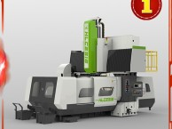经济小型龙门加工中心XK1610,台湾新代系统强力重型切削