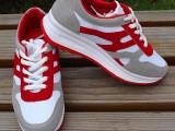 秋季2014新款女士增高女鞋厚底鞋松糕鞋运动休闲鞋透气网鞋代发
