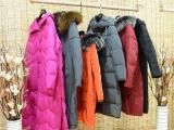 梵凯女装走份 蒂米丝儿冬装新款羽绒服大衣