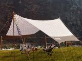 新款户外天幕 野炊棚 沙滩遮阳篷超大野营