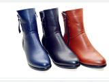 2014年冬季新款6956大码女式短靴40码-43码大码女靴大码