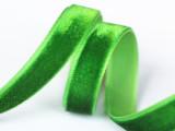 厂家直销13MM单面进口丝带DIY蝴蝶结饰品辅料植绒织带蝴蝶结