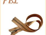 长期供应 3号青古铜开口金属长拉链60cm  服装金属拉链批发