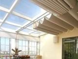 浦东铝百叶窗帘定做 上海浦东新区办公楼遮阳卷帘电动窗帘定做