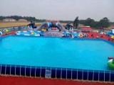 水上乐园项目热销中移动水上乐园水上滑梯漂浮蹦床陀螺水鸟太原