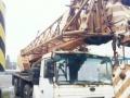 出售单位退役中联浦沅QY50H汽车吊一辆