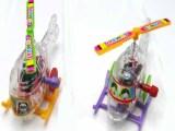 儿童玩具礼品 上链玩具 直升飞机 透明的小飞机 小玩具批发