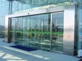 沌口 阳光丽景玻璃感应门安装维修