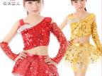 2013新款儿童少儿礼服亮片拉丁舞蹈裙舞台演出服装女童表演服
