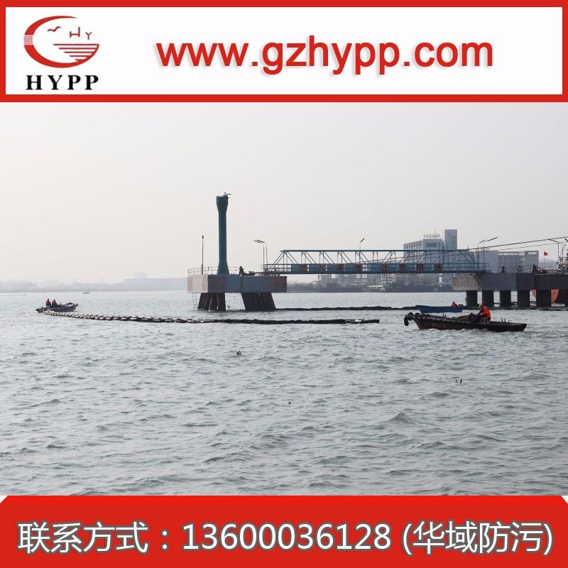 广州南沙围油栏布设浮油回收水上污油处理围油栏船合作