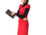 S118# 2013秋冬新款背心裙 肩袖可脱卸 羊毛呢连衣裙 厂