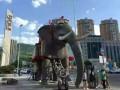滨州展会设备租赁 机械大象租赁变形金刚出租低价来袭惠动全城