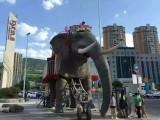 苏州恐龙会行走的机械象会喷水的象订制出租租赁