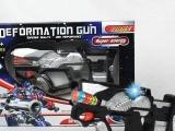 供应 电动转动太空枪 带音乐灯光 儿童电动枪 男孩玩具 电动玩具