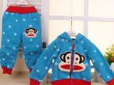 2015新款春秋款童套装男女童套装儿童卫衣 小童休闲两件套877