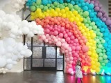 洛阳西工婚房气球布置 洛龙婚礼气球 涧西婚庆气球布置图片