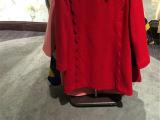 2015新款春装女韩版连衣裙长袖圆领钉珠连衣裙