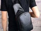 2014新款韩版包包 时尚百搭潮人胸包 编制斜挎包 大胸包 后背