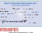 全国帮注册猫CFA猫舍,CFA血统绿纸