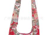 2011新款时尚女包 日系森女森林系花布手拎麻布包包