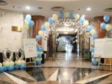 厦门生日气球派对布置,宝宝满月,百天气球装饰布置
