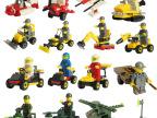 顺乐康积木 乐高式拼装玩具 小颗粒拼插 人仔 儿童益智礼物