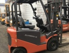 芜湖二手2吨电动堆高叉车/合力1.5吨电瓶叉车质保