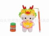 卡通吹泡泡玩具 泡泡卡通猫灯笼节日手提灯