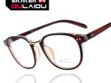 2013新品平光镜复古潮流圆框架眼镜9189铆钉眼镜架眼镜框近视