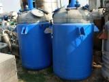 出售二手不銹鋼反應釜 二手蒸汽加熱反應釜 二手鈦反應釜