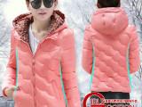 冬季女装韩版修身羽绒棉服女短款反季薄款棉衣连帽大码外套潮
