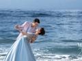北海海景婚纱照