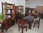 老船木茶桌椅组合仿古茶台复古家具实木茶几新中式加工定制